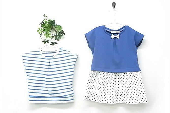bcb632f5b64a9 女の子ドルマン型紙|ラ・スーラ ベビー服型紙のお店|