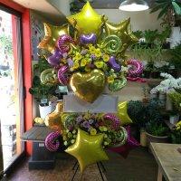 バルーンを使ったスタンド花#14