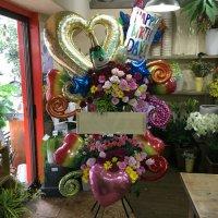 バルーンを使ったスタンド花#233