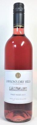 ローソンズ ドライヒルズ ピノ・ロゼ 2015 Lawson's Dry Hills Pinot Rose 2015