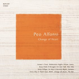 Peo Alfonsi / Change of Heart 〜パット・メセニー曲集