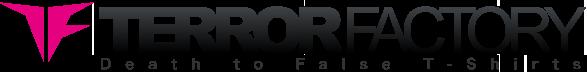 ホラー,カルト,SF,バイオレンス,アクション... 映画 Tシャツ TERROR FACTORY(テロファクトリー)