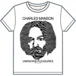 CHARLES MANSON / UNKNOWN PLEASURES(白)