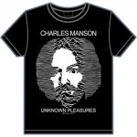 CHARLES MANSON / UNKNOWN PLEASURES(黒)<img class='new_mark_img2' src='https://img.shop-pro.jp/img/new/icons5.gif' style='border:none;display:inline;margin:0px;padding:0px;width:auto;' />
