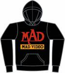 MAD VIDEO パーカー<img class='new_mark_img2' src='https://img.shop-pro.jp/img/new/icons20.gif' style='border:none;display:inline;margin:0px;padding:0px;width:auto;' />