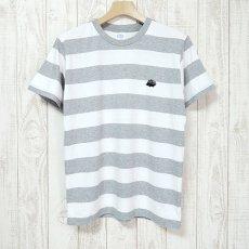 Walter Bosse.jp(ウォルター・ボッセjp)★ボーダー半袖Tシャツ/ハリネズミ/gray