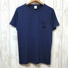 Walter Bosse.jp(ウォルター・ボッセjp)★ポケット付き半袖Tシャツ/ハリネズミ/navy