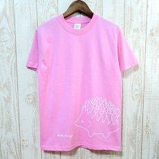 Walter Bosse.jp(ウォルター・ボッセjp)★半袖プリントTシャツ/ハリネズミ/pink