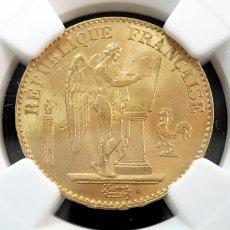 1875年 FRANCE G20F★フランス/金貨★NGC/アンティーク/モダン/MS63