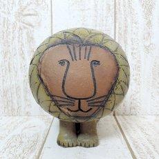Lisa Larson(リサ・ラーソン)★AFRICAシリーズ/Lion ライオン/090321