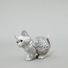Christofle(クリストフル)★ネコ/cat/オブジェ/110321