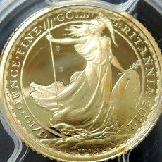 2012年 イギリス ブリタニア 女神 エリザベス2世 【10£】コイン PCGS PR69DCAM