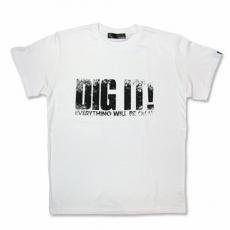 【Dig it Tシャツ】ホワイト