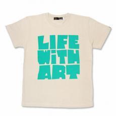 【Life With Art Tシャツ】サンド