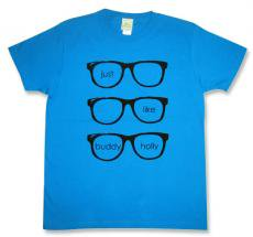 weezer(ウィーザー)【Buddy Holly】モチーフTシャツ