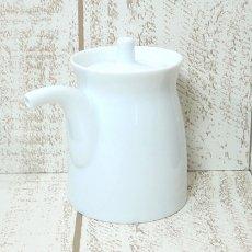 白山陶器 G型しょうゆさし 大 白磁