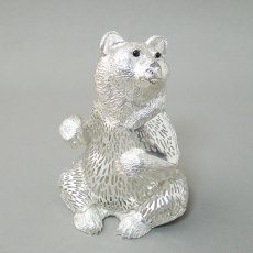 Christofle(クリストフル)★熊オブジェ