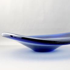 Holmegaard(ホルムガード)★アートグラスボウル/Per Lutken/blue