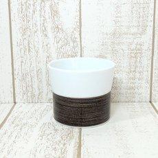 白山陶器★麻の糸シリーズ/フリーカップ・セピア