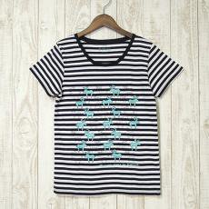 mjuk(ミューク)★Reindeer★トナカイ/ボーダーTシャツ