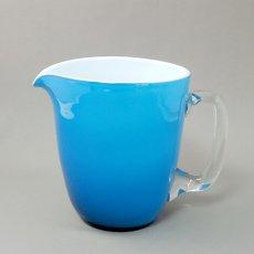 Holmegaard(ホルムガード)Kastrup★JUG/ジャグ/emerald blue