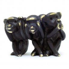 Walter Bosse(ウォルター・ボッセ)★ミニチュアオブジェ(M)サル/monkey/ Three wise monkeys