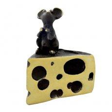 Walter Bosse(ウォルター・ボッセ)★ミニチュアオブジェ(S)ネズミ/mouse w.cheese