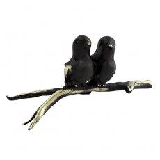 Walter Bosse(ウォルター・ボッセ)★ミニチュアオブジェ(M)鳥/a pair of birds
