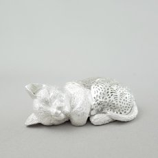 Christofle(クリストフル)★ネコ/猫のオブジェ/030316