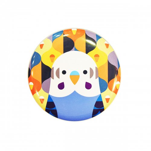 KOTORITACHI丸缶チョコ2020【セキセイインコ:キャラメル】<img class='new_mark_img2' src='//img.shop-pro.jp/img/new/icons1.gif' style='border:none;display:inline;margin:0px;padding:0px;width:auto;' />