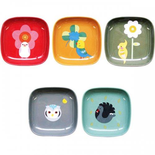 角鳥皿【全5種】