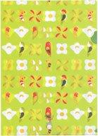 クリアファイル【木の花のインコ】