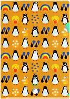 クリアファイル【海のペンギン】