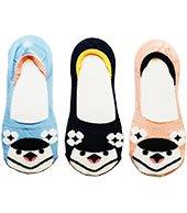 パンプスイン鳥顔靴下【ペンギン】