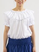 衿元フリル袖あり フリーサイズ