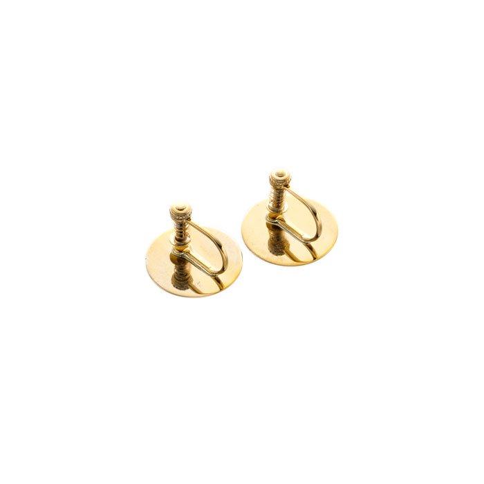 Silkscreen Printed Earrings - 2Colors - 03(2カラー シルクスクリーンイヤリング)