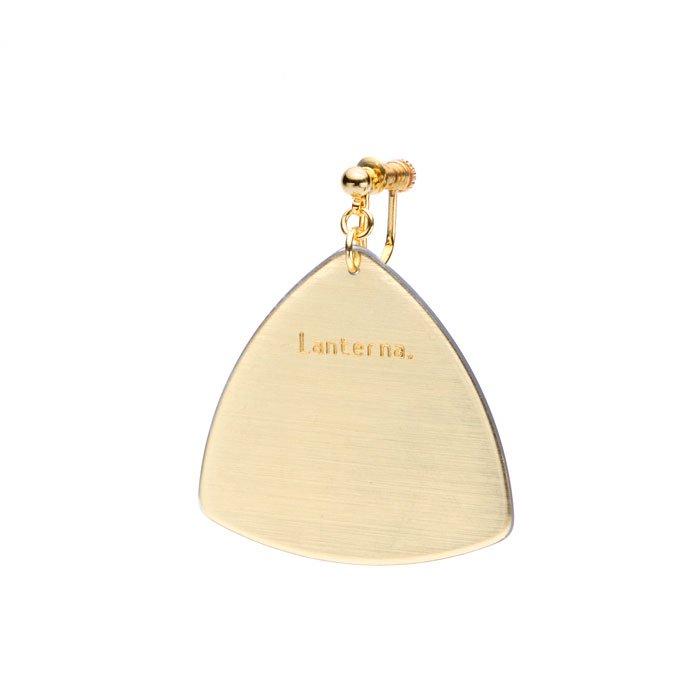 Pick Earring - Gold (ピックのイヤリング - ゴールド)