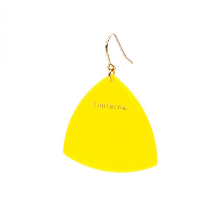 Pick Hook - Yellow (ピックのピアス - イエロー)
