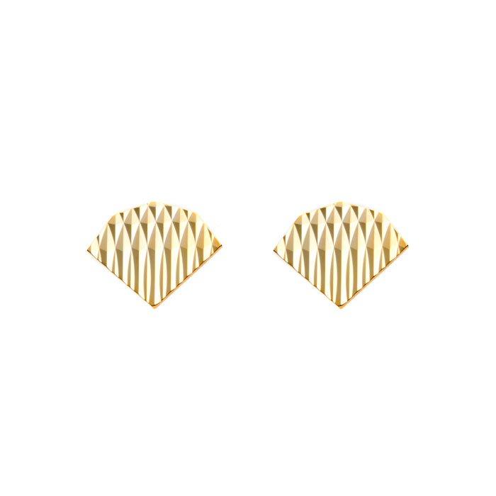 Diamond Cut Posts (ダイヤカットのピアス)