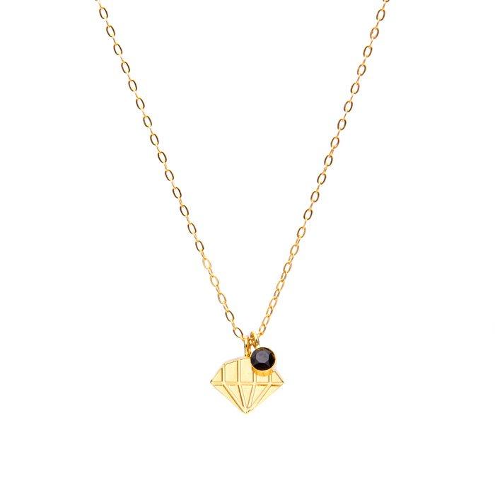 Petit Diamond Shape Necklace (ダイヤ型モチーフのネックレス)