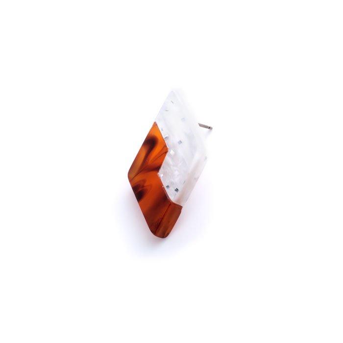 Acrylic Combi Post(2色アクリルのピアス)