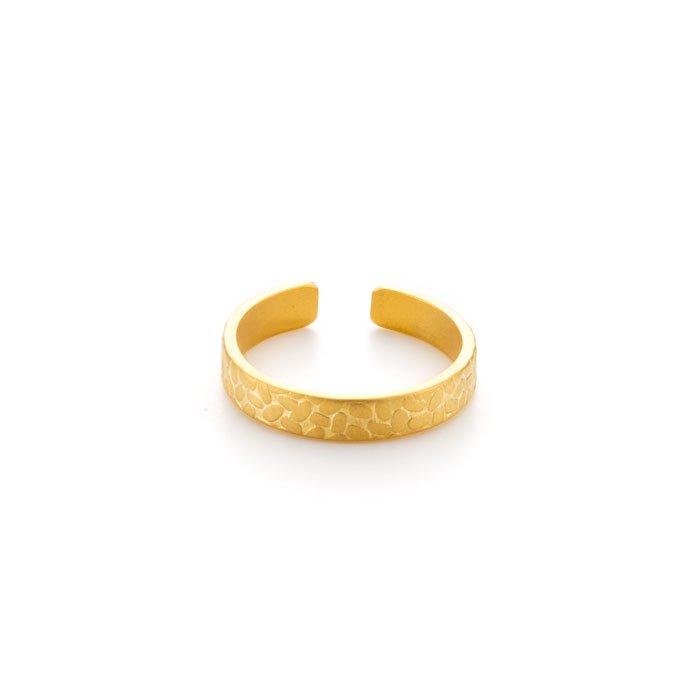 米粒模様のリング