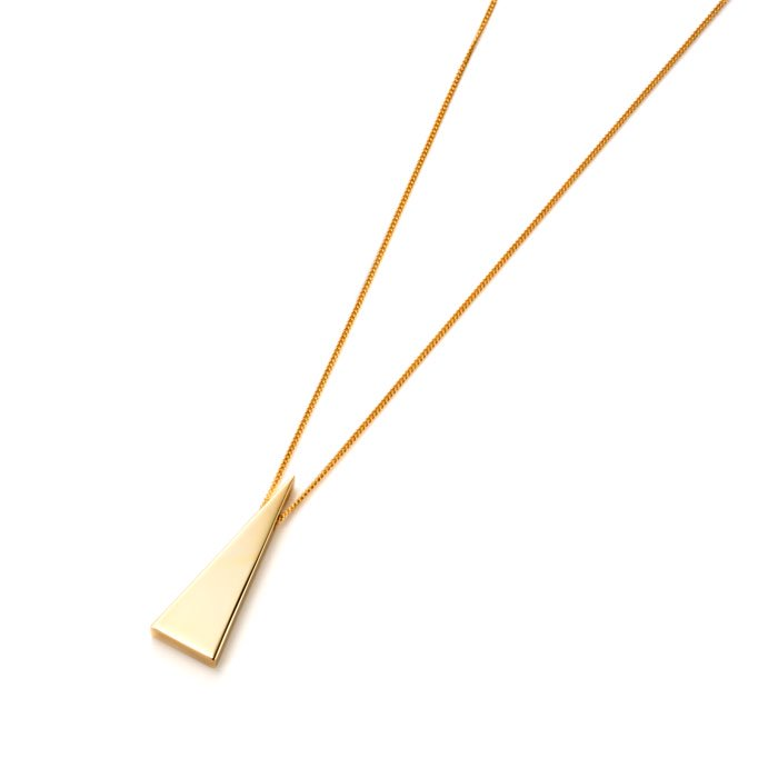 Triangle Necklace(トライアングルシェイプのネックレス)