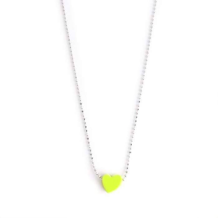 Paint Heart Necklace(ペイント ハート ネックレス)