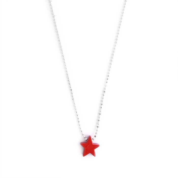 Paint Star Necklace(ペイント スター ネックレス)