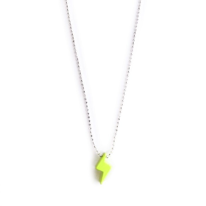 Paint Lightning Necklace(ペイント ライトニング ネックレス)
