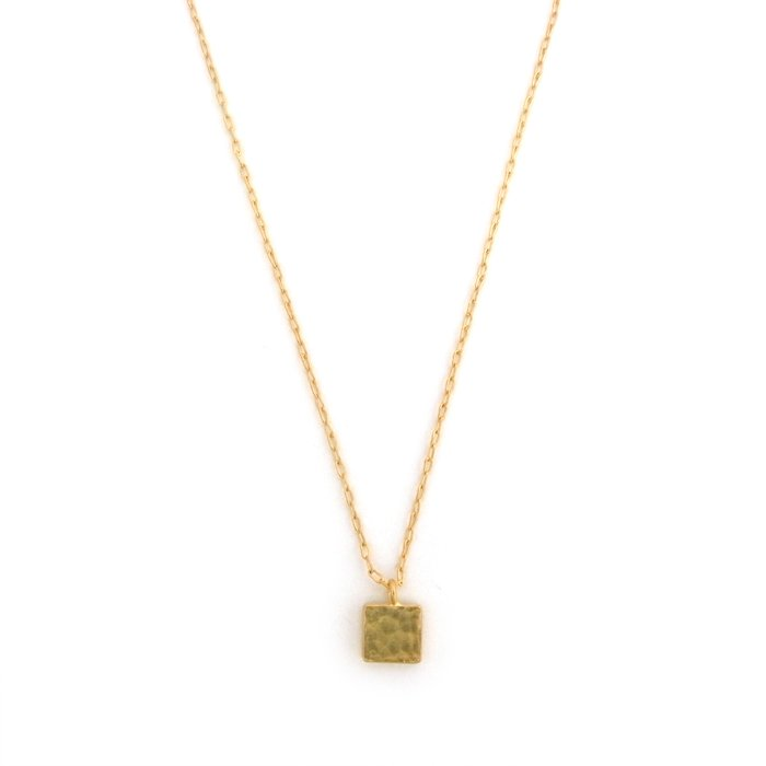 Tiny Square Necklace(小さな四角モチーフネックレス)