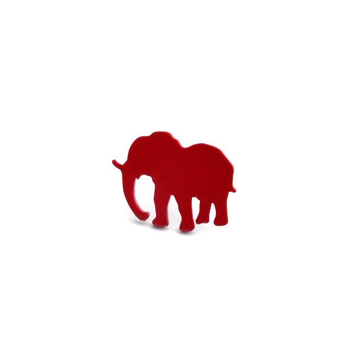 Safari Posts - Elephant - color