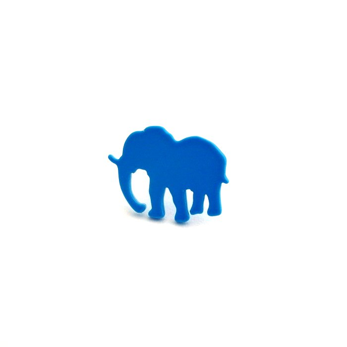 Safari Posts - Elephant - color