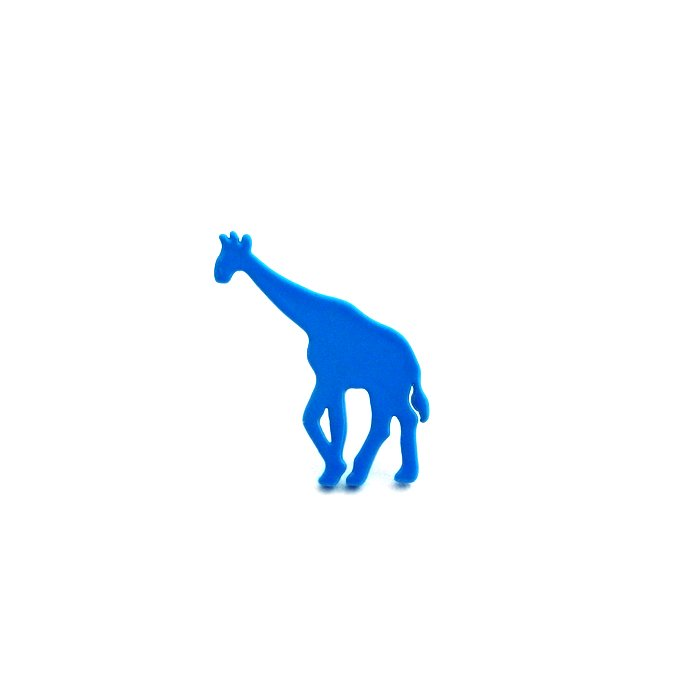 Safari Posts - Giraffe - color